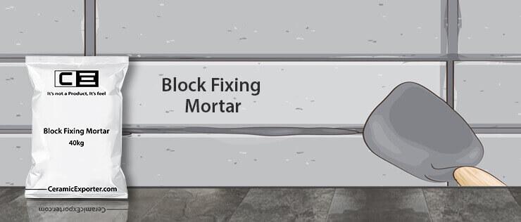 Block Jointing Mortar