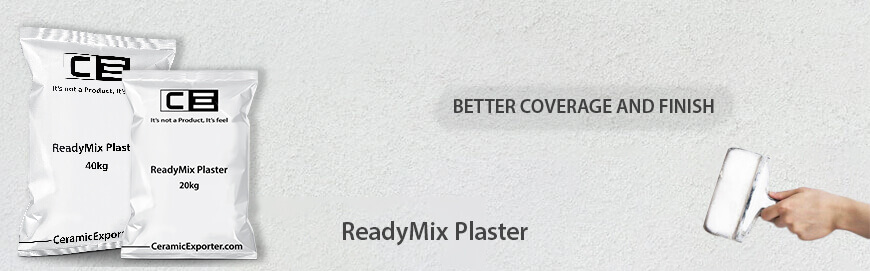 ReadyMix Plaster Exporter, Manufacturer and Supplier in India
