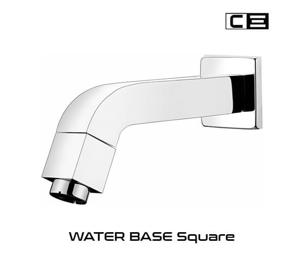 Water Base Sqaure Faucets