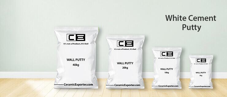 WHite Cement Putty
